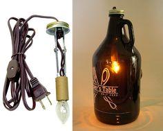 Beer Growler Lamp Making Kits - National Artcraft