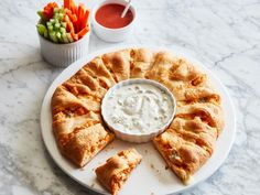 Get Buffalo Chicken Crescent Ring Recipe from Food Network