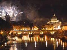 fuochi d'artificio roma - Buon Anno 2015 : Il Tevere
