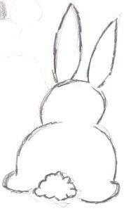 Easter Bunny Drawing - Dibujo único Easy Easter Bunny, Cómo dibujar Cute B . Easy Easter Bunny Drawing - Dibujo único Easy Easter Bunny, Cómo dibujar Cute B .Easy Easter Bunny Drawing - Dibujo único Easy Easter Bunny, Cómo dibujar Cute B . Outline Drawings, Pencil Art Drawings, Doodle Drawings, Drawing Sketches, Drawing Drawing, Drawing Tips, Sketching, Easy Animal Drawings, Bunny Sketches