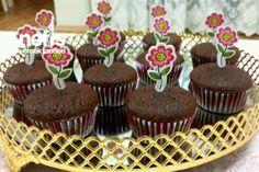 Çikolata Dolgulu Cupcake (20 Adet) Tarifi