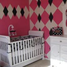 202 Best Pink And Black Images Nursery Ideas Child Room Infant Room