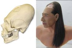 Here are some deformed head reconstructions that have been sent in to me recently, The one above is a reconstruction of a Mayan skull (t...
