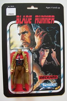 "Custom Made 3/34"" Blade Runner Vintage Style Action Figure 