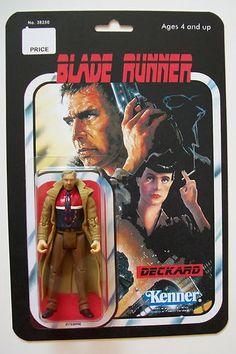 "Custom Made 3/34"" Blade Runner Vintage Style Action Figure | eBay"