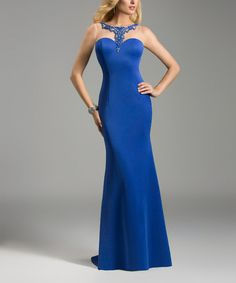This Sapphire Royal Gown is perfect! #zulilyfinds