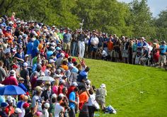 #BubbaWatson...CHERRY HILLS VILLAGE, CO - SEPTEMBER 06: Bubba Watson hits a shot on the 18th hole during the third round of the BMW Championship at Cherry Hills Country Club on September 6, 2014 in Cherry Hills Village, Colorado. (Photo by Stan Badz/PGA TOUR)