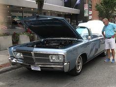 Chrysler Imperial near Milan Tobacconists in Roanoke Va.