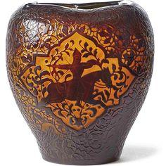 """http://www.bamberger-antiquitaeten.de/wp-content/uploads/2016/07/0011-1024x1024.jpg Seltene Vase mit """"Persischem Reiter"""" — Emile Gallé, Nancy - 1889-1894  neu auf www.bamberger-antiquitaeten.de"""