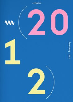 nyMusikk annual report 2012 on Behance