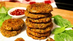 How to Make Baked Vegetable Patties - iHeartVegans Broccoli Patties, Zucchini Patties, Vegan Patties, Patties Recipe, Healthy Recipes, Indian Food Recipes, Whole Food Recipes, Vegetarian Recipes, Cooking Recipes