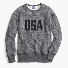 Mens sweater for the 4th july and perfect for olympics 2016, show your spirit but not in a tacky way, this sophisticated fan look make it cool and effortless
