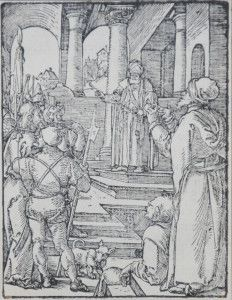 Christ Before Pilate (The Small Passion), 1612