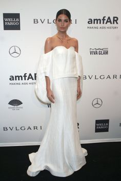 Lily Aldridge // Style Spotlight: The Best Looks From The amfAR New York Gala