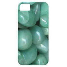 Green Aventurine Tumblestones iPhone 5 Case