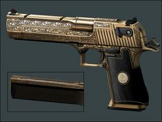 Custom Engraved Desert Eagle