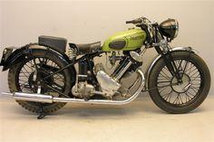 Panther Model 100 1932-1963 vintage british motorcycle