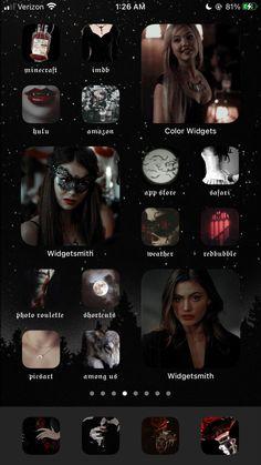 Vampire Diaries Poster, Vampire Diaries Wallpaper, Iphone Wallpaper App, Aesthetic Desktop Wallpaper, Ios Design, Iphone Design, Iphone Life Hacks, Themes App, Application Icon