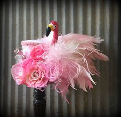 Mini Top Hat Alice in Wonderland Flamingo Mini Top HatMad