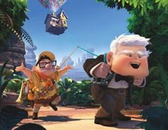 Funny Disney Pictures.  Up is one of the sweetest stories ever.