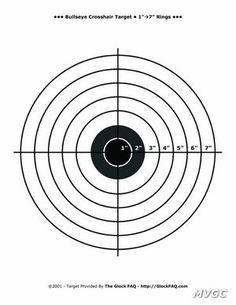 85f89ae68036de0e14c5b728d30bf089 printable target 4 small crosshair bullseye gun shooting range on printable targets for zeroing