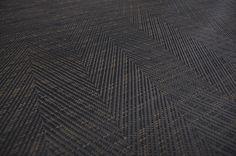 bolon graphic  herringbone black