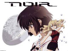 "Girls With Guns And A Few Burning Questions: The ""Noir"" Anime Series Noir Anime, Young Japanese Girls, Otaku, Kingdom Hearts Anime, Shrine Maiden, Female Friendship, Familia Anime, Anime Reviews, Fan Service"