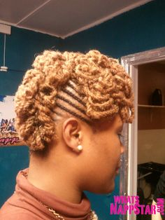 Cornrows and two strand twist!