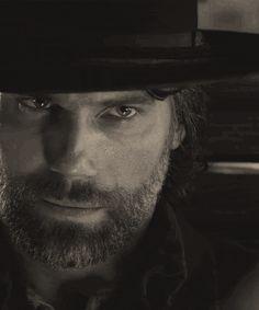 Hell On Wheels.         Beautiful man!