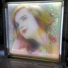 Something we liked from Instagram! Prety girl Lithophane coloring  Oil painting  #리쏘페인컬러링 #리쏘페인 #3dprinter #lithophane #lithophane coloring  #cubicon #시스비젼 #3d printing service #oil painting #painting #photo #wedding #picture by insoolchung check us out: http://bit.ly/1KyLetq