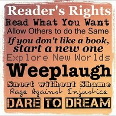 Reader's Rights