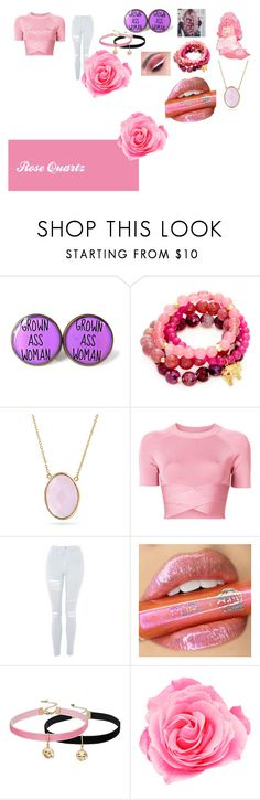 """""""Steven Universe"""" by getjinxed205 ❤ liked on Polyvore featuring Humör, Good Charma, Bling Jewelry, T By Alexander Wang, Topshop, My Little Pony and Steve Madden"""