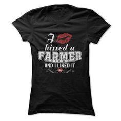 I kissed a FARMER T Shirt, Hoodie, Sweatshirt