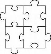 ผลลัพธ์รูปสำหรับ Puzzle Piece Template