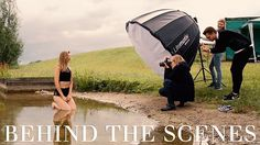 Behind The Scenes | Summer Beach Photo Shoot
