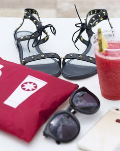 Red Poolside Accessories