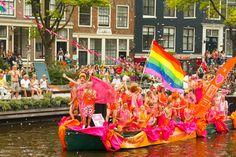 Amsterdam Gay Pride, Netherlands © Pavel Kavalenkau | Dreamstime