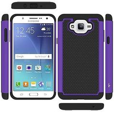 Samsung Galaxy J7 2016 Phone Cell Android Phone Case Accessories Purple