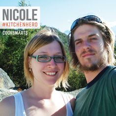"""Nicole: """"Remember that even mistakes are progress. Not everything you make is going to be the most amazing thing you've ever tasted. You made it, and that in and of itself is an accomplishment to be proud of. And a great reason to try again tomorrow!"""" 