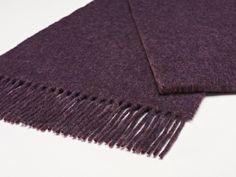 Purple Heather Plain Scarf
