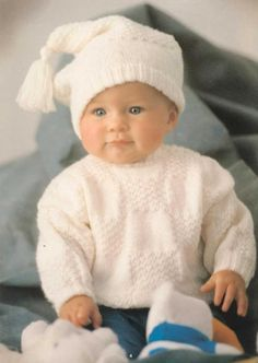 Patons Little Angels Baby Cardigan Free Knit Pattern Booklet. Gorgeous little cardigan and sweater knitting patterns for baby! Free Pattern More Knitting Patterns Like This 10 Easy Baby Knitting Patterns Free Baby Sweater Knitting Patterns, Baby Knitting Free, Knit Baby Sweaters, Baby Boy Sweater, Knitted Baby Clothes, Knitting For Kids, Baby Patterns, Sweater Hat, Baby Knits