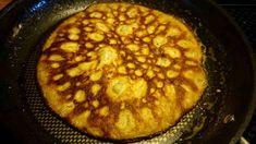 Ett LCHF-recept på pannkakor som är riktigt goda. Påminner en hel del om vanliga pannkakor och blir även lite frasiga om man äter dem direkt.