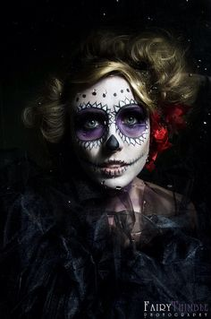 Dia De Los Muertos by Kiara-Ann on @DeviantArt