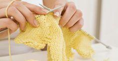 Como tricotar uma ourela