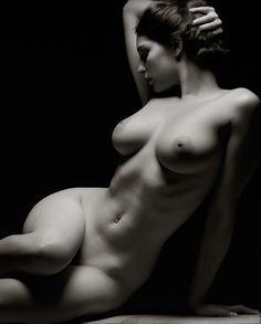 Classic nude pose