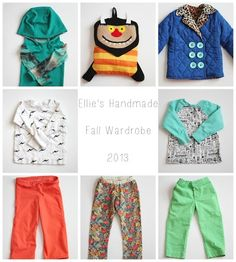 Ellie's Handmade Fall Wardrobe