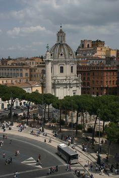 Santissimo Nome di Maria al Foro Traiano Church - Rome - Italy (von IceNineJon)