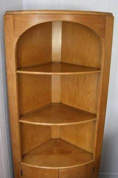 Elegant Heywood Wakefield Corner Cabinet C3348 $600. This Was The Second Of Three  Corner Cabinets Produced Design Ideas