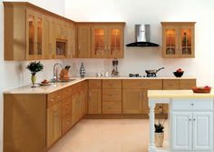 Simple Kitchen Interiors light coloured contemporary kitchen cabinets ipc182 - modern