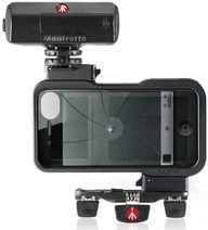 KLYP is the first iPhone case designed specifically by Manfrotto to improve your iPhone photos, videos and videocalls by letting you attach image-enhancing accessories like LED lights and supports